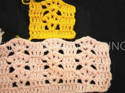 Crochet pattern for jacket and showl