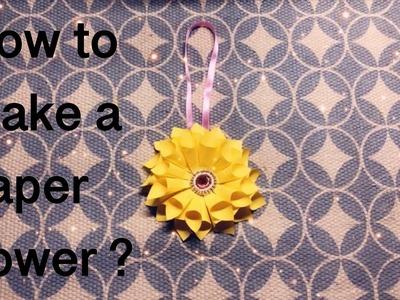 DIY #paperflower#papercraft#flowermaking| Feremina D'silva|Dhoklapao