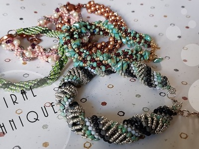 Easy Seed Beaded Spiral Techniques