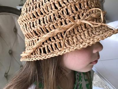 How To Crochet A Beach Hat