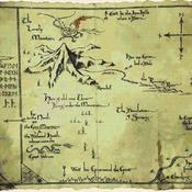counted Cross Stitch Pattern hobbit mountain ad smaug 438x348 stitches CH1988