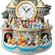 counted cross Stitch Pattern disney cuckoo clock 184*474 stitches CH2153