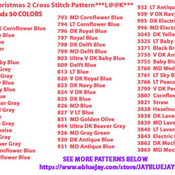 ( CRAFTS ) Country Christmas Cross Stitch Pattern***L@@K***Buyers Can Download Your Pattern As Soon As They Complete The Purchase