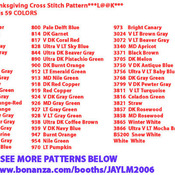 ( CRAFTS ) Snoopy Thanksgiving Cross Stitch Pattern***L@@K***Buyers Can Download Your Pattern As Soon As They Complete The Purchase