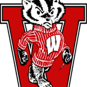 ( CRAFTS ) Wisconsin Badger Cross Stitch Pattern***L@@K***Buyers Can Download Your Pattern As Soon As They Complete The Purchase