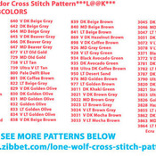CRAFTS Yosemite Splendor Cross Stitch Pattern***LOOK***