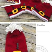 Addi King Knit Santa/Elf Hat Pattern