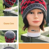 Ladies Plaid Beanie/Messy Bun Crochet Pattern