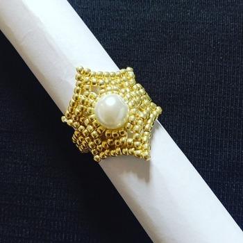 Handmade Gold Starry Ring Jewellery