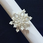 Handmade Snowflake Ring Jewellery