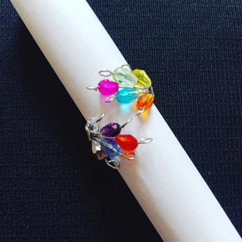 Handmade Colourful Ring Jewellery