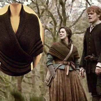 Outlander's Claire's Carolina Shawl