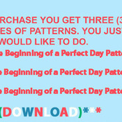 CRAFTS Beginning of a Perfect Day  Cross Stitch Pattern***LOOK***Buyers Can Download Your Pattern As Soon As They Complete The Purchase