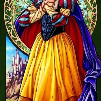 CRAFTS Snow White Cross Stitch Pattern***L@@K***ON SALE ONLY 2.95