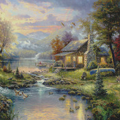 ( CRAFTS ) Natures  Paradise Cross Stitch Pattern***L@@K***Buyers Can Download Your Pattern As Soon As They Complete The Purchase