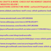 CRAFTS  Dream Catcher & Wolves Cross Stitch Pattern***LOOK***Buyers Can Download Your Pattern As Soon As They Complete The Purchase