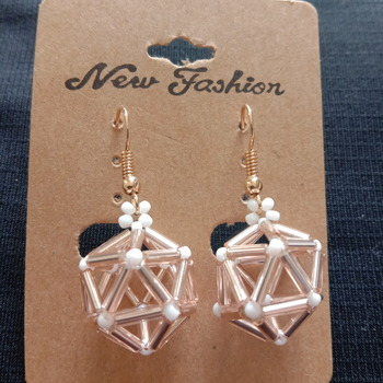 Handmade Triangle Pentagon Geometric Earrings Jewellery