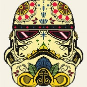 Counted Cross Stitch Pattern Stormtrooper star wars 180*190 stitches CH1066_1