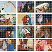 counted cross stitch pattern disney all horses 308*290 stitches CH1611