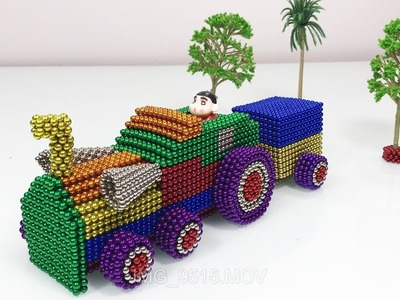 200% Satisfaction Video - How To Make a Truck with 35000 Mini Magnetic Balls