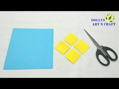 DIY Simple, Easy n Cute Paper Basket   Origami Paper Basket   How to make Basket with Coloured Paper