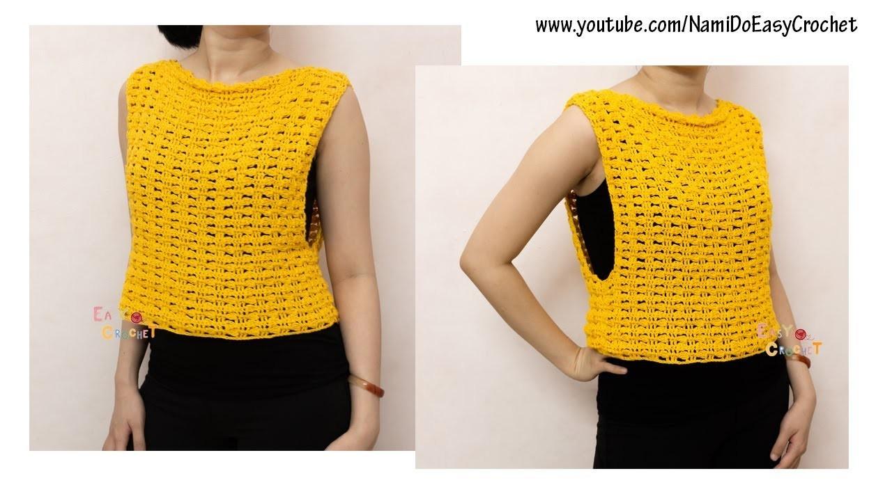 Easy Crochet for Summer: Crochet Tank Top #04