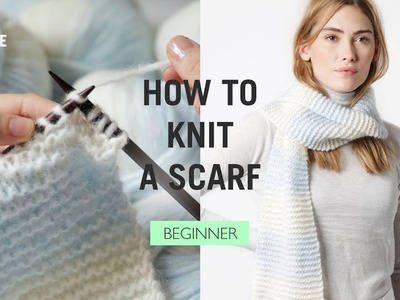 How To: Knit A Scarf