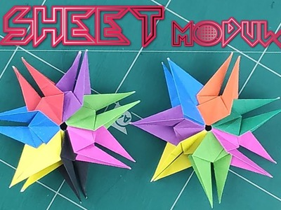 Modular Origami Instructions by AloratheDragon on DeviantArt | 300x400
