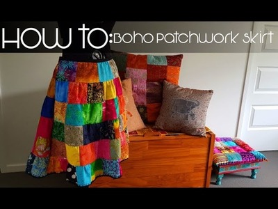 How to Make: Bohemian Patchwork Skirt