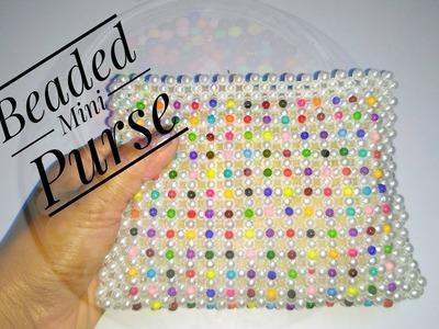 How To Make Crystal.Beaded  Purse |Mini Purse.Handbag.Clutch New design |Nomi.Namita crafts|