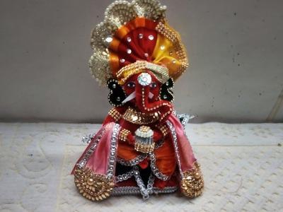 How to make Ganesh Ji from supari || supari decoration|| diy