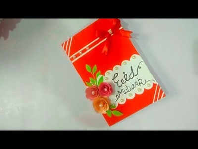 How to make handmade Eid card. DIY Beautiful Pop-up Eid card idea