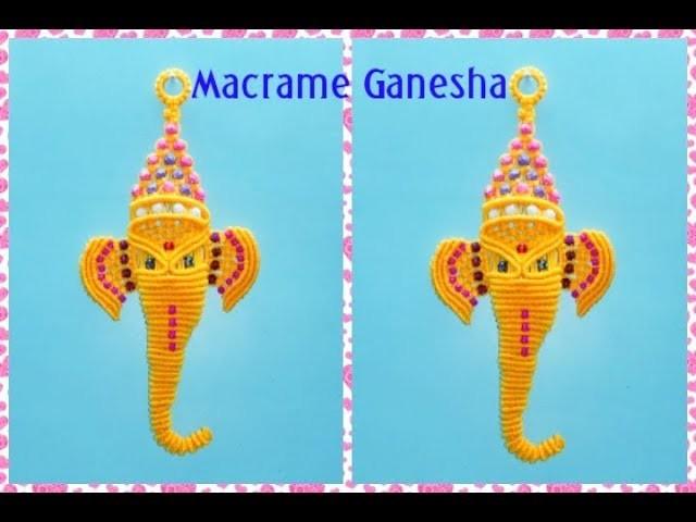 How to make macrame Bal Ganesha