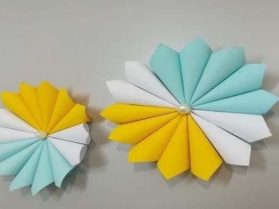 How to Make paper Flower - Flor de Origami - Fabricación de flores
