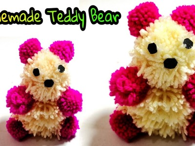 How to make Teddy bear | Woolen Teddy Bear Making At Home | Woolen Craft DIY