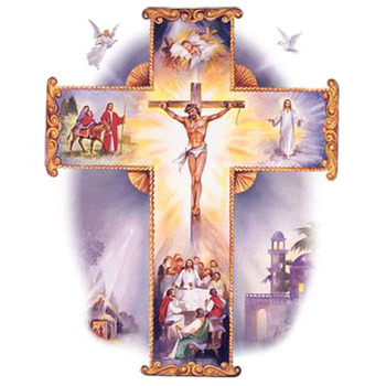 CRAFTS THE LIVING CROSS Cross Sticth Pattern***LOOK***Buyers Can Download Your Pattern As Soon As They Complete The Purchase