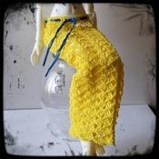 PATTERN: 1/4 BJD Moe/Active Line Minifee Skirt #1 by GothDollie
