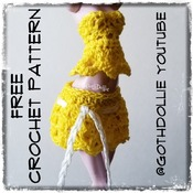 PATTERN: MHD Skirt by GothDollie (Originally on YouTube)