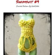 PATTERN: Monster High Swimsuit #9 by GothDollie