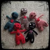 PATTERN: Amigurumi Bootyful VooDoo doll by GothDollie