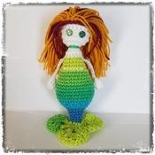 PATTERN: Amigurumi Bootyful Mermaid doll by GothDollie