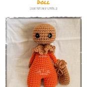PATTERN: Amigurumi Bootyful Sammy doll by GothDollie