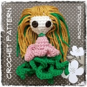 PATTERN: Amigurumi Gorgie Doll Crochet Pattern By GothDollie