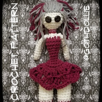 PATTERN: Amigurumi Kan Kan Doll by GothDollie