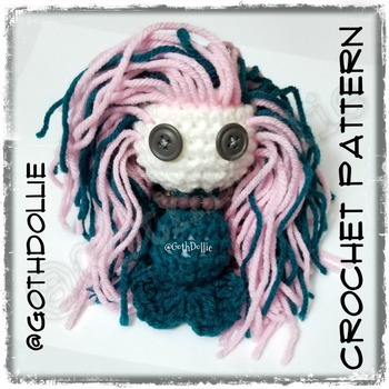 PATTERN: Amigurumi Mermies Crochet Pattern By GothDollie