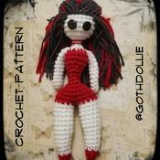 PATTERN: Amigurumi Pinup Doll by GothDollie