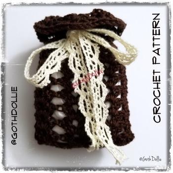 PATTERN: Favor/Keepsake Sachet by GothDollie