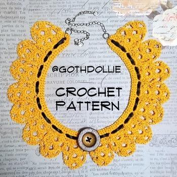 PATTERN: Lizzie Choker Necklace by GothDollie