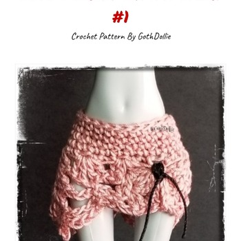 PATTERN: Monster Ever After High Nymph Skirt #1 by GothDollie