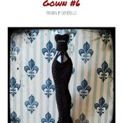PATTERN: Monster High Gown #6 by GothDollie